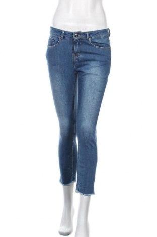 Дамски дънки Bizzbee, Размер S, Цвят Син, 90% памук, 8% полиестер, 2% еластан, Цена 45,89лв.