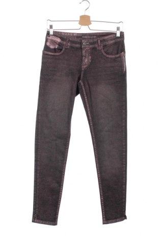 Дамски дънки Blue Fire Co, Размер XXS, Цвят Розов, 98% памук, 2% еластан, Цена 7,35лв.