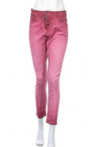 Дамски дънки Cipo & Baxx, Размер S, Цвят Розов, 98% памук, 2% еластан, Цена 29,75лв.