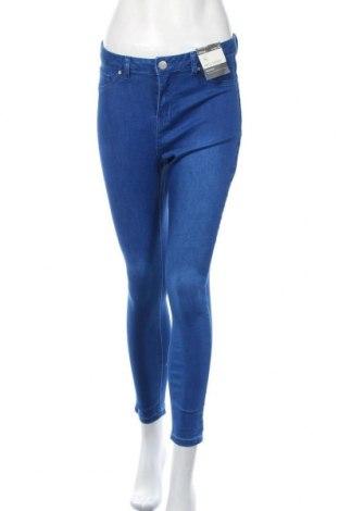 Дамски дънки Clothing & Co, Размер L, Цвят Син, 71% памук, 27% полиестер, 2% еластан, Цена 50,40лв.