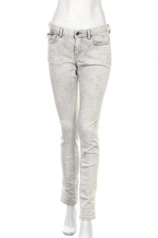 Дамски дънки Edc By Esprit, Размер M, Цвят Сив, 87% памук, 12% полиестер, 1% еластан, Цена 16,43лв.