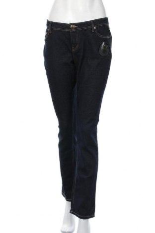 Дамски дънки Girl Xpress, Размер XL, Цвят Син, Памук, полиестер, еластан, Цена 41,16лв.