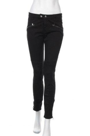 Дамски дънки H&M L.O.G.G., Размер M, Цвят Черен, 97% памук, 3% еластан, Цена 27,30лв.
