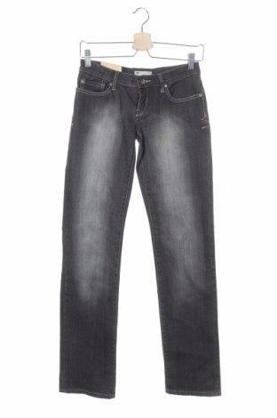 Дамски дънки Hot Options, Размер XS, Цвят Сив, Памук, еластан, Цена 3,00лв.