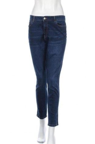Γυναικείο Τζίν Janina, Μέγεθος XL, Χρώμα Μπλέ, 98% βαμβάκι, 2% ελαστάνη, Τιμή 18,84€
