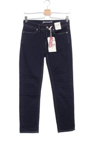 Дамски дънки Jeanswest, Размер XS, Цвят Син, 99% памук, 1% еластан, Цена 12,29лв.