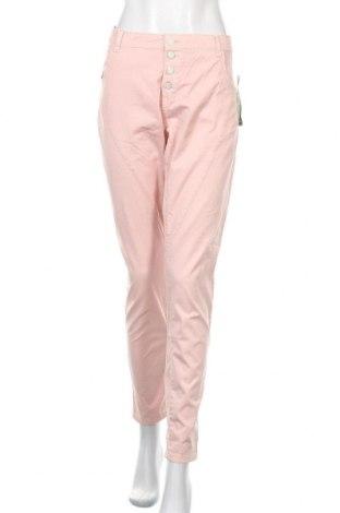 Дамски дънки KappAhl, Размер XL, Цвят Розов, 97% памук, 3% еластан, Цена 18,43лв.
