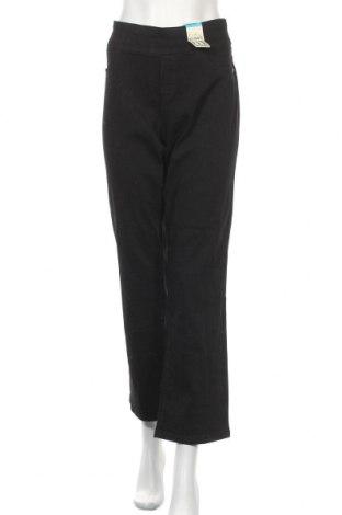 Дамски дънки Katies, Размер L, Цвят Черен, 83% памук, 15% полиестер, 2% еластан, Цена 11,03лв.