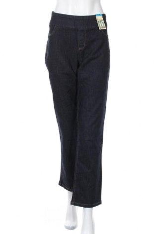 Дамски дънки Katies, Размер XL, Цвят Син, 72% памук, 21% полиестер, 2% еластан, Цена 11,03лв.