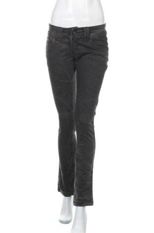 Дамски дънки Kenvelo, Размер M, Цвят Сив, 98% памук, 2% еластан, Цена 15,07лв.