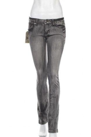 Γυναικείο Τζίν Kenvelo, Μέγεθος S, Χρώμα Γκρί, 99% βαμβάκι, 1% ελαστάνη, Τιμή 10,91€