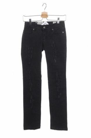 Γυναικείο Τζίν Kenvelo, Μέγεθος XS, Χρώμα Μαύρο, 98% βαμβάκι, 2% ελαστάνη, Τιμή 13,41€