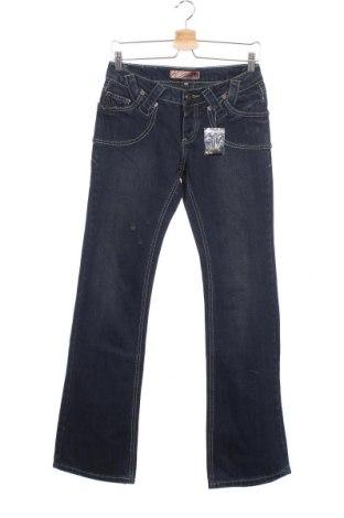Γυναικείο Τζίν Kenvelo, Μέγεθος S, Χρώμα Μπλέ, Βαμβάκι, Τιμή 6,27€