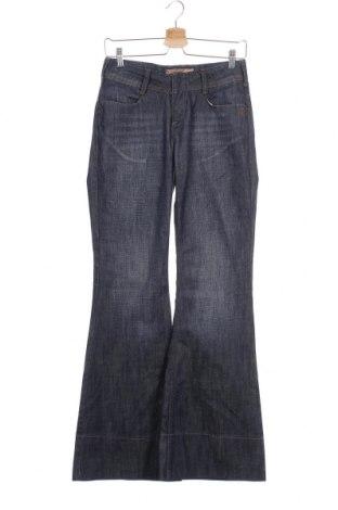 Дамски дънки Kenvelo, Размер S, Цвят Син, 98% памук, 2% еластан, Цена 12,34лв.
