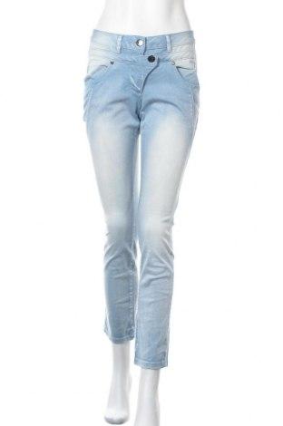 Дамски дънки Laura Kent, Размер S, Цвят Син, 98% памук, 2% еластан, Цена 11,81лв.