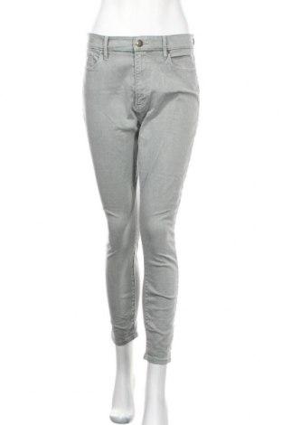 Дамски дънки Loft By Ann Taylor, Размер M, Цвят Сив, 98% памук, 2% еластан, Цена 36,86лв.