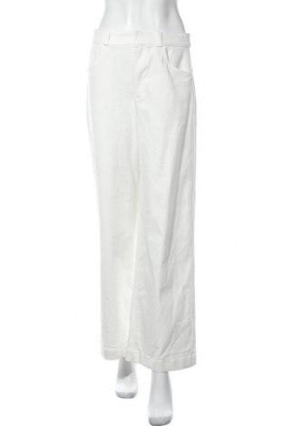 Дамски дънки Massimo Dutti, Размер M, Цвят Бял, 87% памук, 11% полиестер, 2% еластан, Цена 29,52лв.