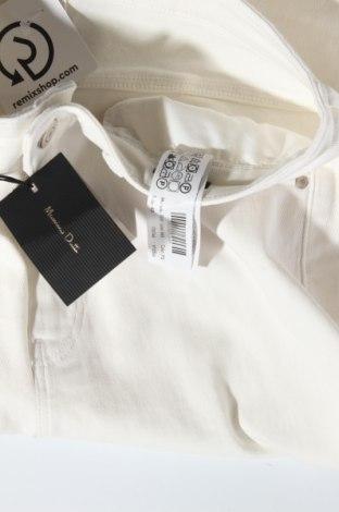 Дамски дънки Massimo Dutti, Размер M, Цвят Екрю, 99% памук, 1% еластан, Цена 57,00лв.