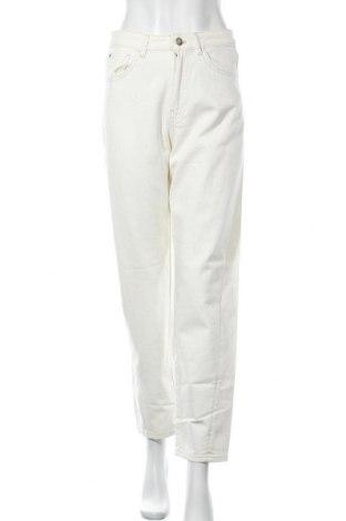 Γυναικείο Τζίν Massimo Dutti, Μέγεθος M, Χρώμα Εκρού, Βαμβάκι, Τιμή 14,85€