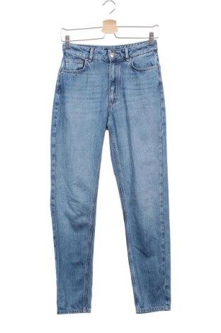 Γυναικείο Τζίν Massimo Dutti, Μέγεθος XS, Χρώμα Μπλέ, 60% βαμβάκι, 40% lyocell, Τιμή 26,61€