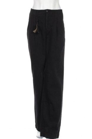 Дамски дънки Massimo Dutti, Размер M, Цвят Черен, Памук, Цена 37,62лв.