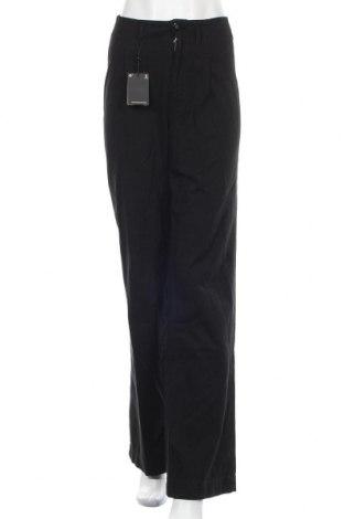 Дамски дънки Massimo Dutti, Размер S, Цвят Черен, Памук, Цена 37,62лв.