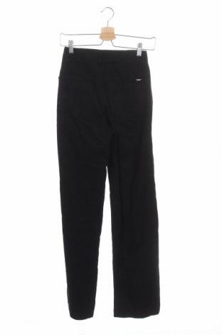 Дамски дънки Massimo Dutti, Размер XS, Цвят Черен, Памук, Цена 37,62лв.