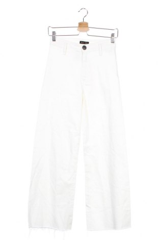 Blugi de femei Massimo Dutti, Mărime XS, Culoare Ecru, 98% bumbac, 2% elastan, Preț 80,53 Lei
