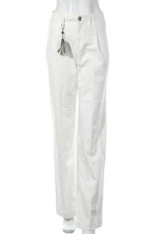 Γυναικείο Τζίν Massimo Dutti, Μέγεθος S, Χρώμα Λευκό, 99% βαμβάκι, 1% ελαστάνη, Τιμή 20,64€