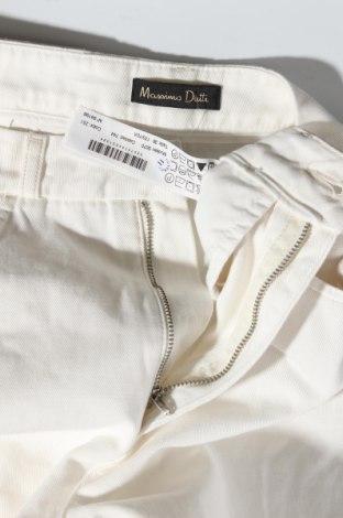 Дамски дънки Massimo Dutti, Размер M, Цвят Екрю, Памук, Цена 23,76лв.