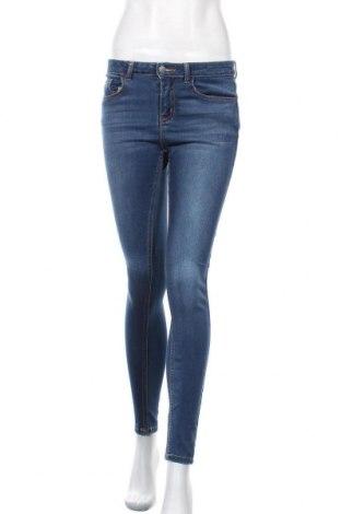 Дамски дънки Pieces, Размер S, Цвят Син, 71% памук, 27% полиестер, 2% еластан, Цена 16,96лв.