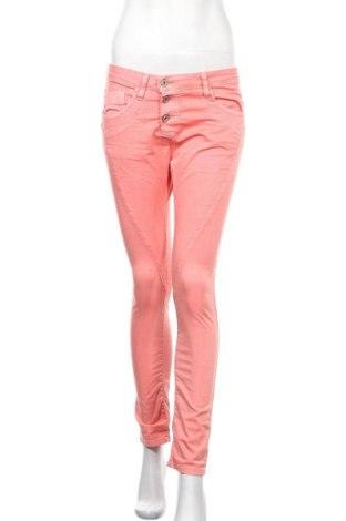 Дамски дънки Please, Размер S, Цвят Розов, 98% памук, 2% еластан, Цена 11,55лв.