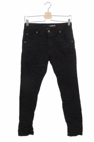 Дамски дънки Please, Размер XXS, Цвят Черен, 98% памук, 2% еластан, Цена 17,88лв.