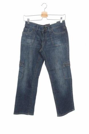 Дамски дънки Simply Vera Vera Wang, Размер S, Цвят Син, 99% памук, 1% еластан, Цена 12,47лв.