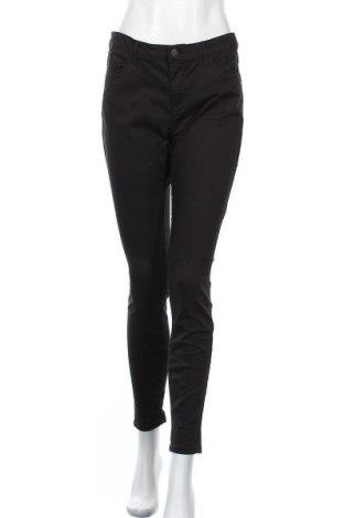 Дамски дънки Yessica, Размер M, Цвят Черен, 65% памук, 32% полиестер, 3% еластан, Цена 29,40лв.