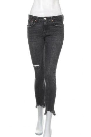Γυναικείο Τζίν Zara, Μέγεθος S, Χρώμα Γκρί, Τιμή 14,55€