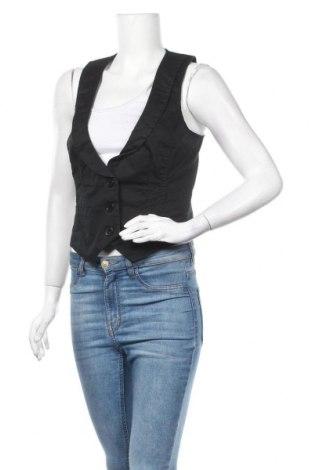 Дамски елек Edc By Esprit, Размер M, Цвят Черен, 96% памук, 4% еластан, Цена 6,30лв.