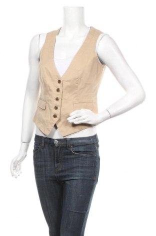 Дамски елек Esprit, Размер L, Цвят Бежов, 98% памук, 2% еластан, Цена 6,56лв.