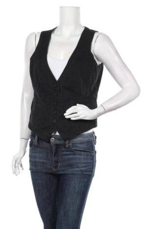 Дамски елек Esprit, Размер L, Цвят Черен, 98% памук, 2% еластан, Цена 4,73лв.