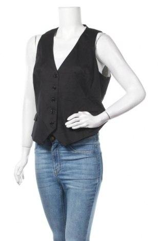 Дамски елек H&M, Размер XL, Цвят Черен, 97% памук, 3% еластан, Цена 15,12лв.