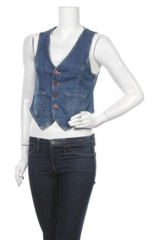 Дамски елек H&M, Размер M, Цвят Син, 98% памук, 2% еластан, Цена 7,09лв.