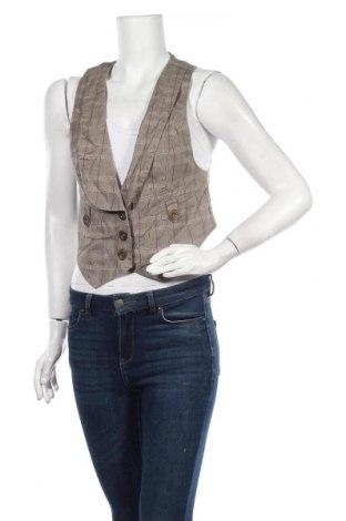 Дамски елек John Baner, Размер M, Цвят Бежов, 100% памук, Цена 6,04лв.