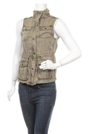 Дамски елек Max Jeans, Размер XS, Цвят Зелен, Тенсел, Цена 7,09лв.