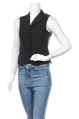 Дамски елек Miss H., Размер S, Цвят Черен, 74% полиамид, 22% полиестер, 4% еластан, Цена 4,73лв.