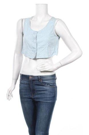 Γυναικείο γιλέκο OAK + FORT, Μέγεθος S, Χρώμα Μπλέ, 92% lyocell, 7% βαμβάκι, 1% ελαστάνη, Τιμή 5,46€