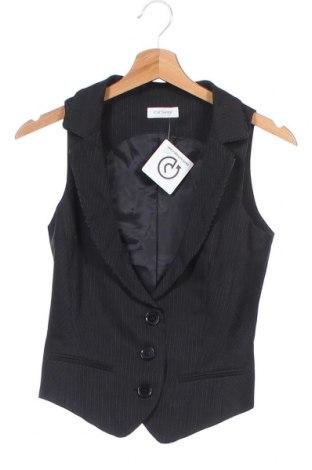 Дамски елек Orsay, Размер XS, Цвят Черен, 76% полиестер, 22% вискоза, 2% еластан, Цена 6,56лв.
