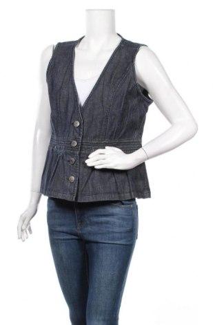 Γυναικείο γιλέκο Soya Concept, Μέγεθος XL, Χρώμα Μπλέ, 98% βαμβάκι, 2% ελαστάνη, Τιμή 7,73€