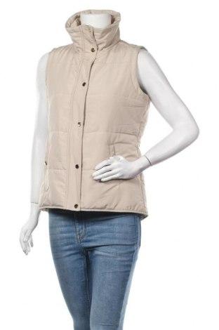 Дамски елек Style & Co, Размер S, Цвят Бежов, Полиестер, Цена 17,64лв.