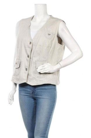 Дамски елек Toni Dress, Размер L, Цвят Екрю, Цена 25,94лв.