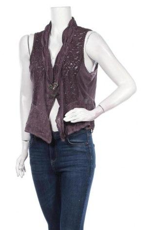 Γυναικείο γιλέκο Tredy, Μέγεθος XL, Χρώμα Βιολετί, Τιμή 9,71€